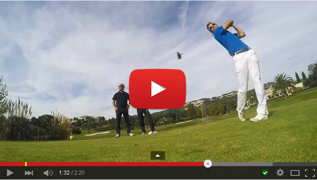 Golf Training Concept - French Riviera