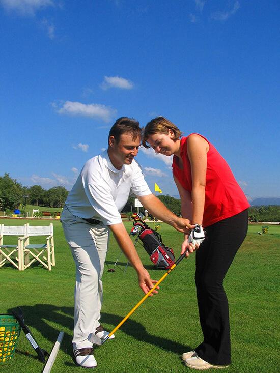 enseignement du golf et organisation de stage à l'étranger