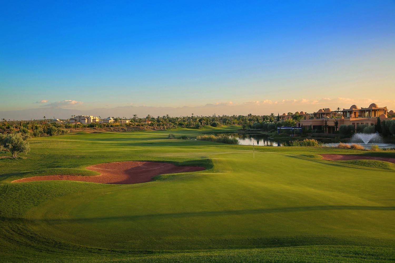 Parcours Palm Golf à Marrakech