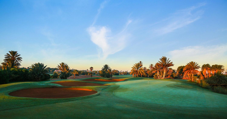Parcours de clôture de stage au Palm Golf Marrakech