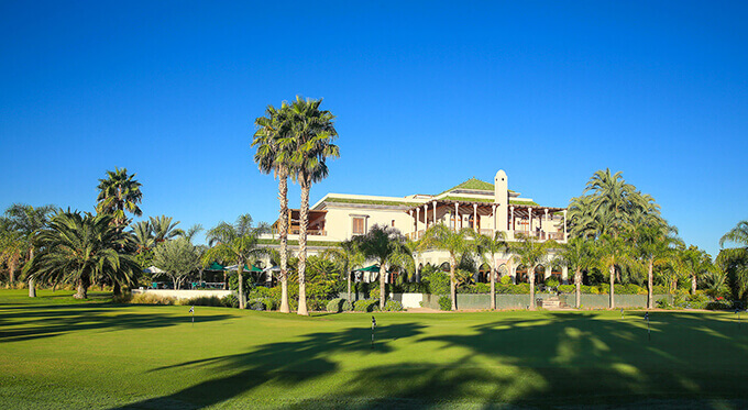 Clubhouse du Golf de la Palmeraie à Marrakech
