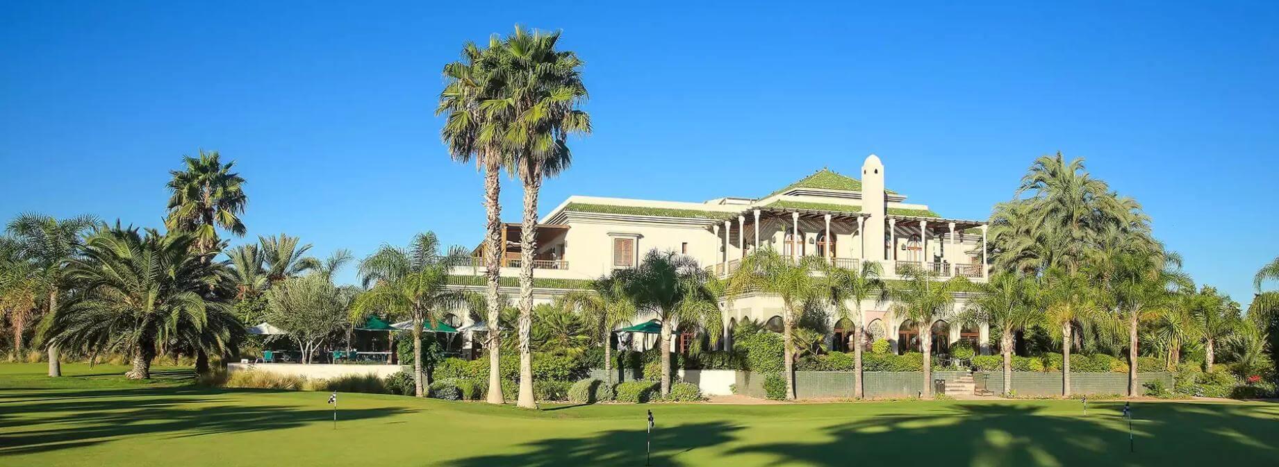 Club house du golf de la Palmeraie