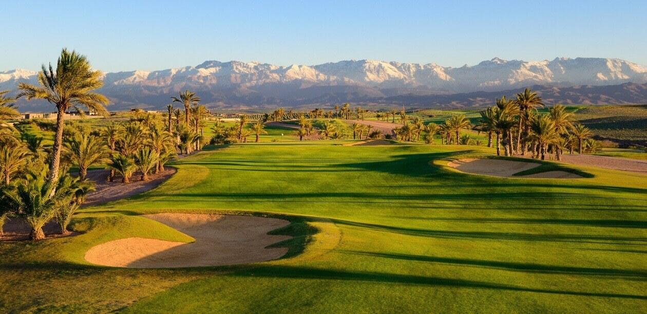 Leçons de golf au Club d'Assoufid lors du séjour à Marrakech