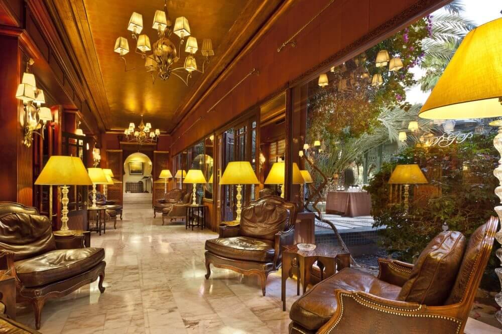 Dîner au restaurant du PalmGolf Palace 5*