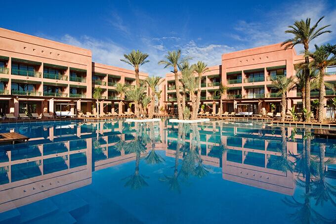 Hôtel de la Palmeraie 5* - chambres vue golf et piscine