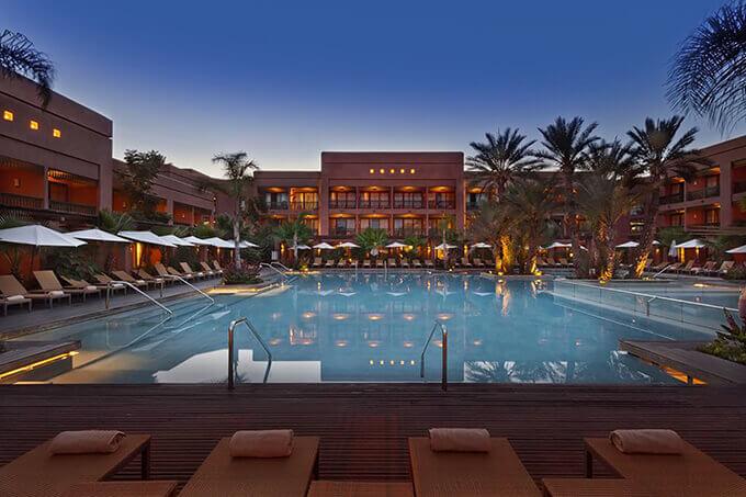 L'Hôtel du Golf 5* du PalmGolf Resorts de la Palmeraie à Marrakech