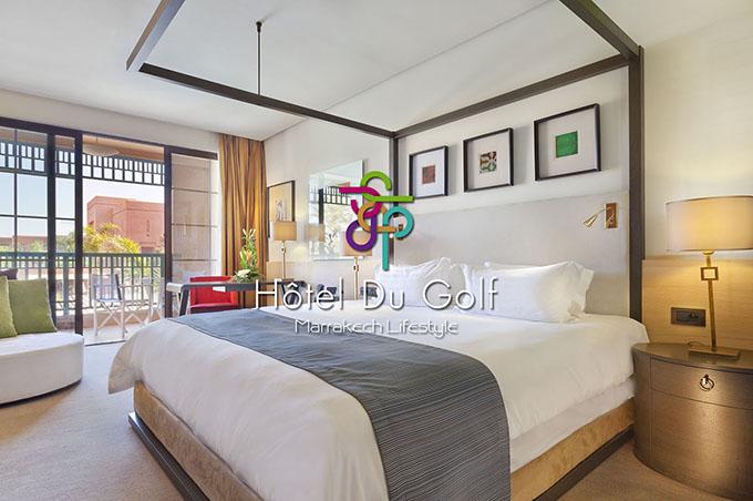 Les chambres Standard vue golf de l'hôtel du PalmGolf Resorts Marrakech