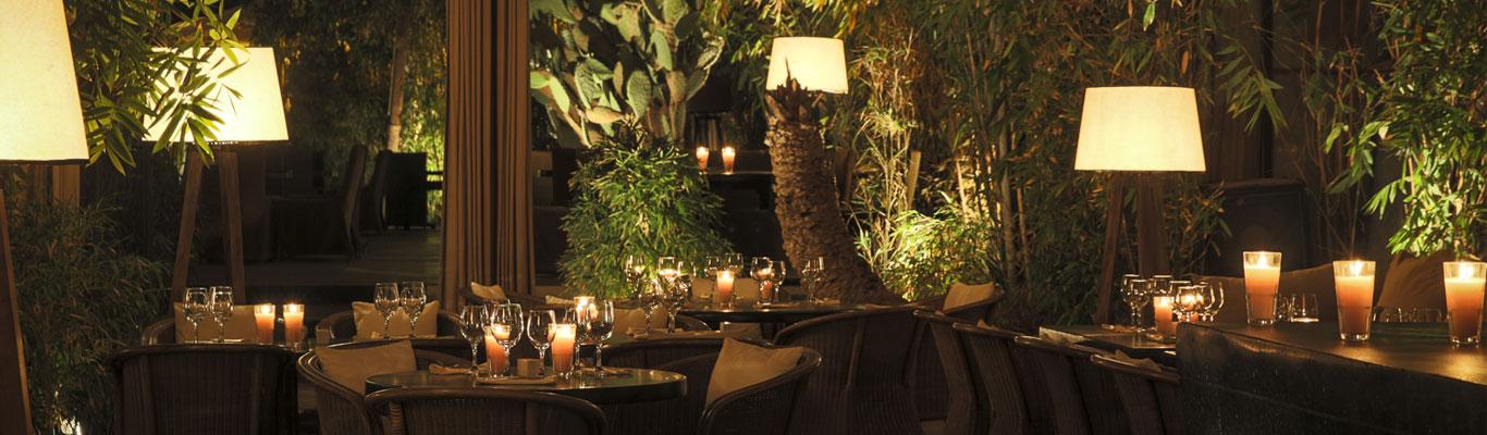 Dîner des stagiaires au Restaurant de Marrakech Le Bo-Zin