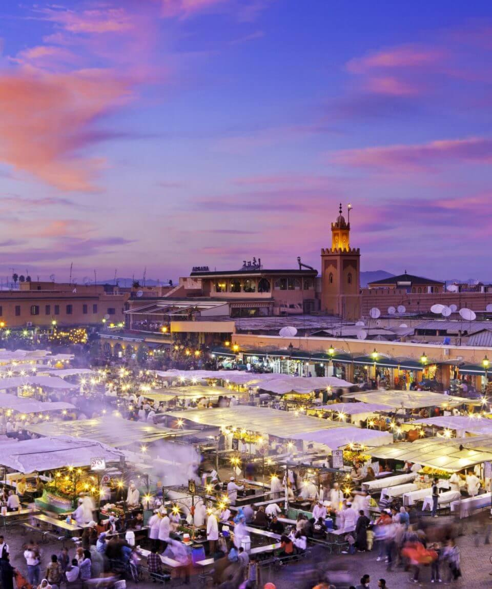 Séjour à Marrakech avec golf et visite culinaire de la ville