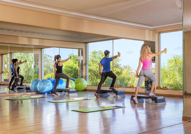 Salle de Fitness Gym au PalmGolf Resorts Marrakech