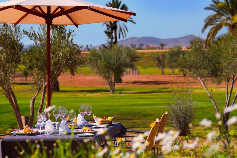 Déjeuner au Club House du Palm Golf Marrakech