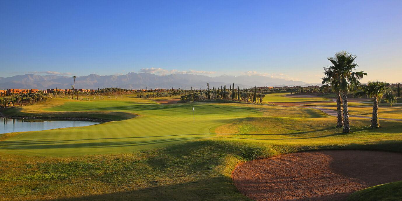 Stratégie et approche mentale du golf sur le Parcours du Palm Ourika