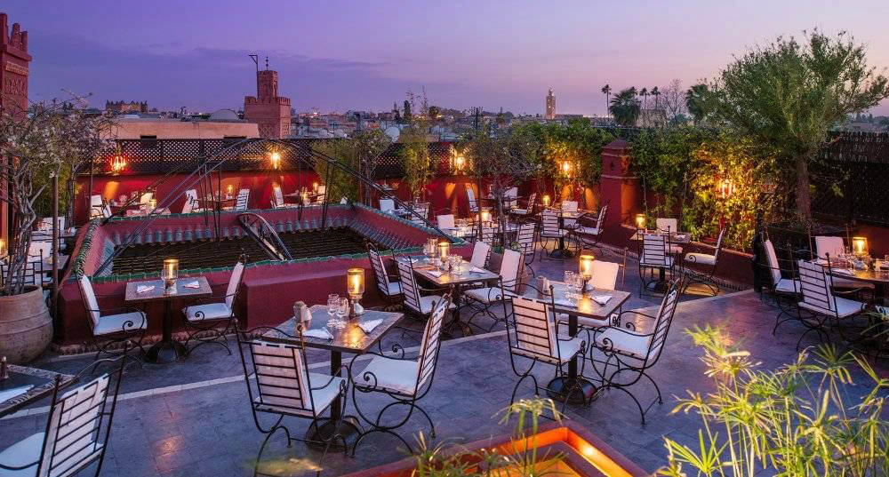 Restaurant Foundouk sur les toits de Marrakech