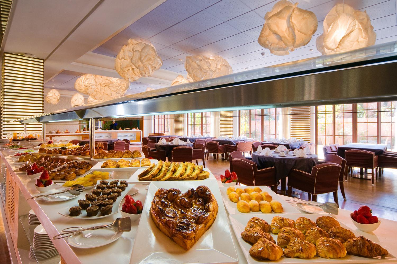 La salle du petit déjeuner de l'hôtel du Palm Golf Resorts Marrakech