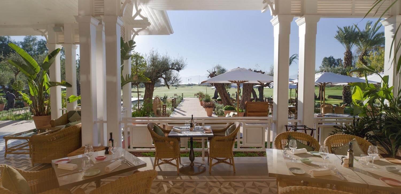 Déjeuner au Club house du Royal Golf Club de Marrakech