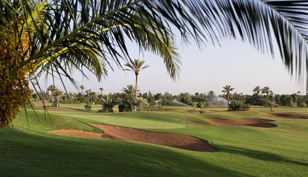 Parcours du Palm Golf à Marrakech