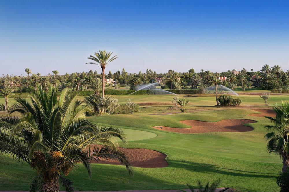 Parcours du Palm Golf dessiné par Robert Trent Jones