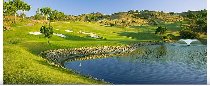 Le parcours de golf Campo Asia