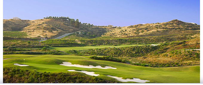 Le parcours de golf Campo Europa