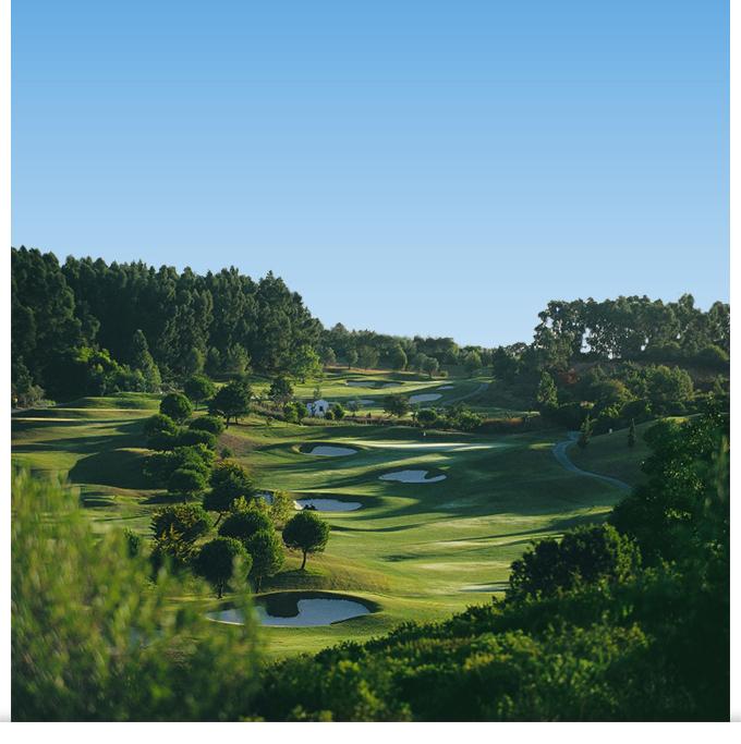 Les parcours du Penha Longa Golf Resort